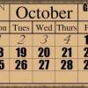 Сколько дней в месяце и почему в  неделе семь дней?