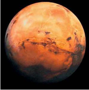 mars 299x300 Почему Марс красный?