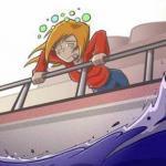 Почему возникает морская болезнь?
