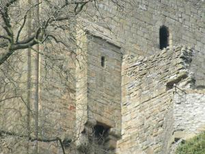Средневековая уборная в замке
