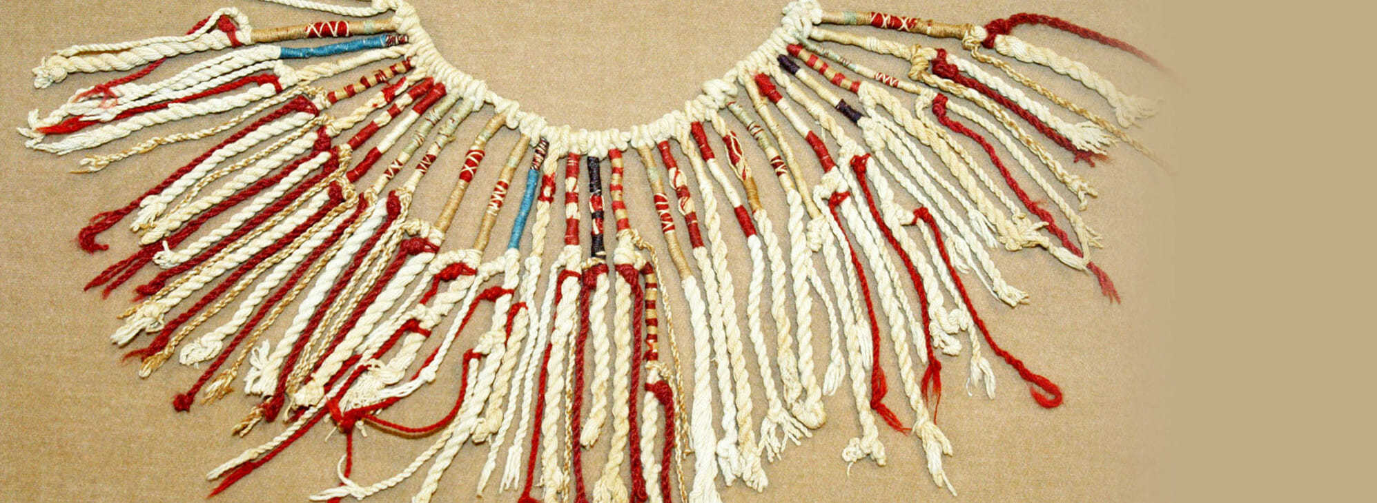 Кипу или «узелковое письмом» Инков