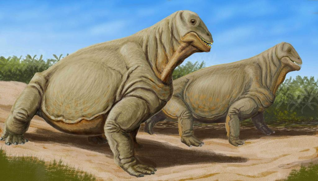 Предок динозавров - Мосхопс