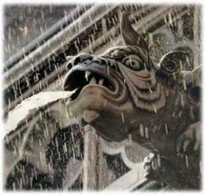 Водосточная труба- горгулья