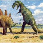 Появление динозавтров