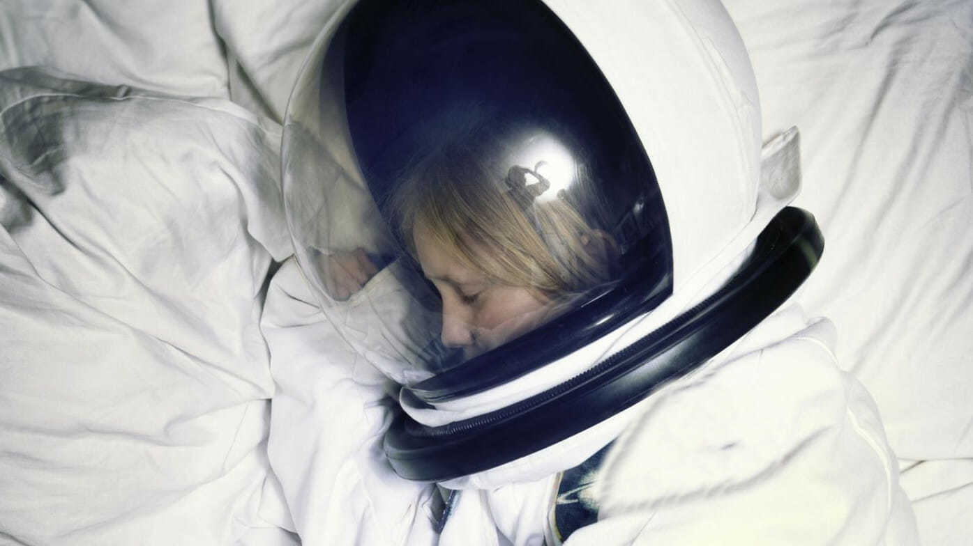 Cпящий космонавт