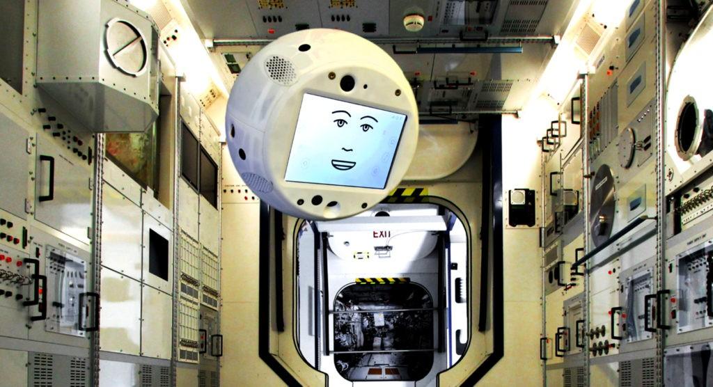 CIMON на Международной космической станции