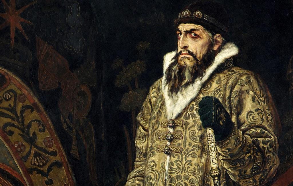 Иван Грозный - первый царь всея Руси. Портрет В. Васнецова, 1897 год