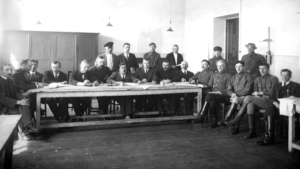 Комиссия по призыву рабочих и крестьян в Красную армию, 1918