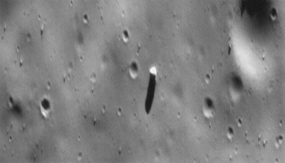 Монолит на поверхности Фобоса