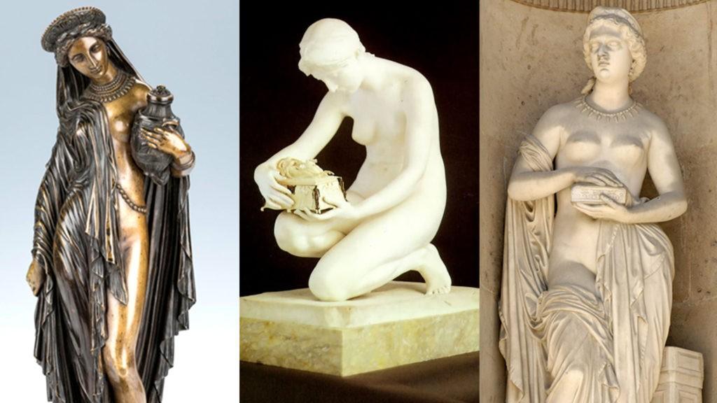 Скульптуры Пандоры
