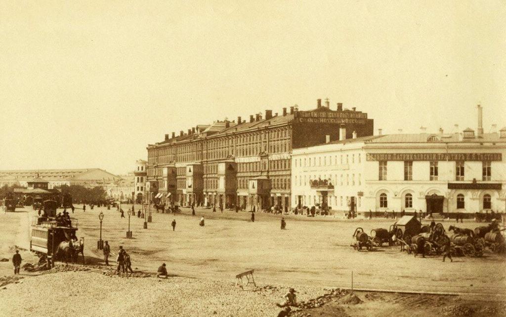 Большой Патрикеевский трактир Тестова в Москве, 19 век