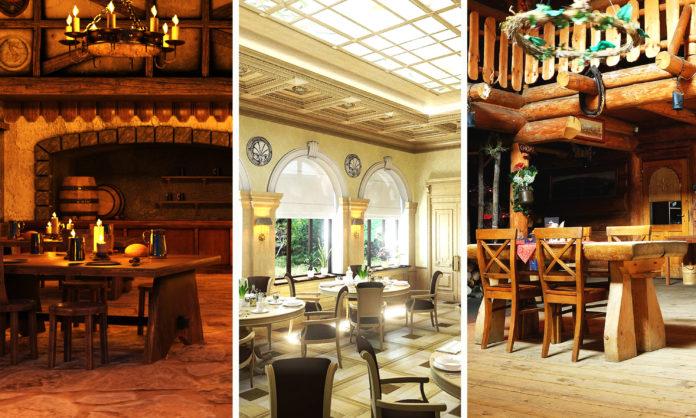Чем таверна отличается от трактира и ресторана?