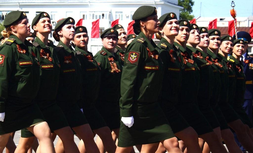 Женщины военнослужащие РФ
