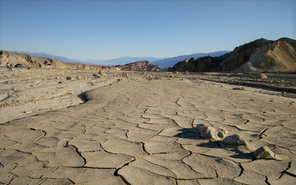 Фото каменистой пустыни