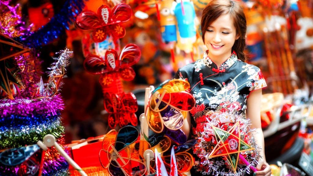 Новый год в Китае ассоциируется с приходом весны
