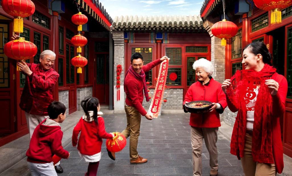 Китайский Новый год - семейный праздник, который любят все, независимо от возраста