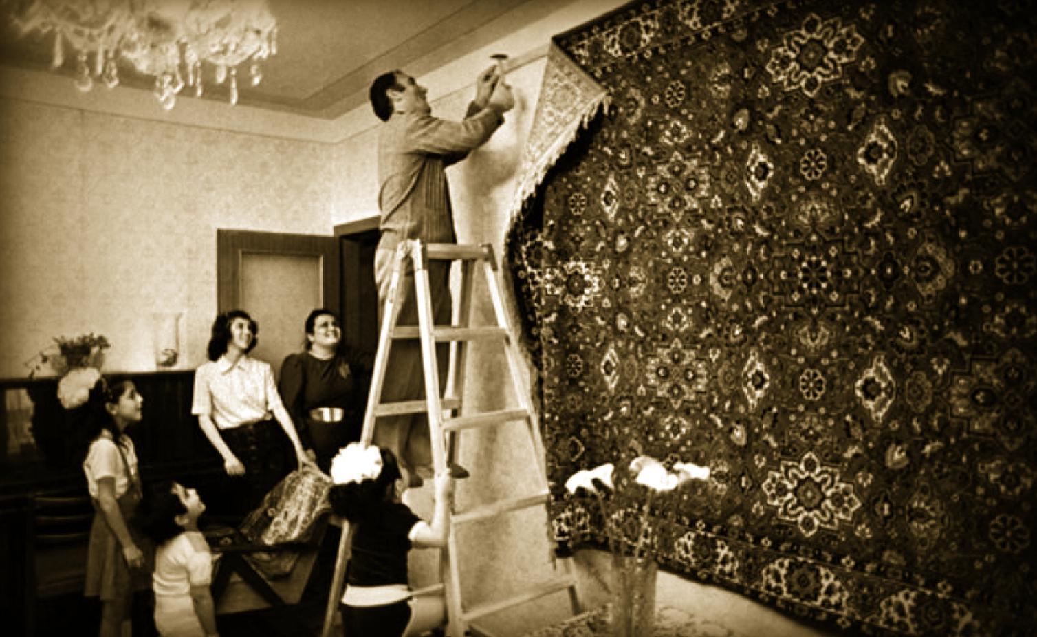 Зачем раньше вешали ковры на стены?