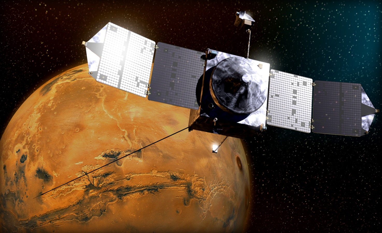 Марсианская ретрансляционная сеть соединяет Землю с марсоходами НАСА