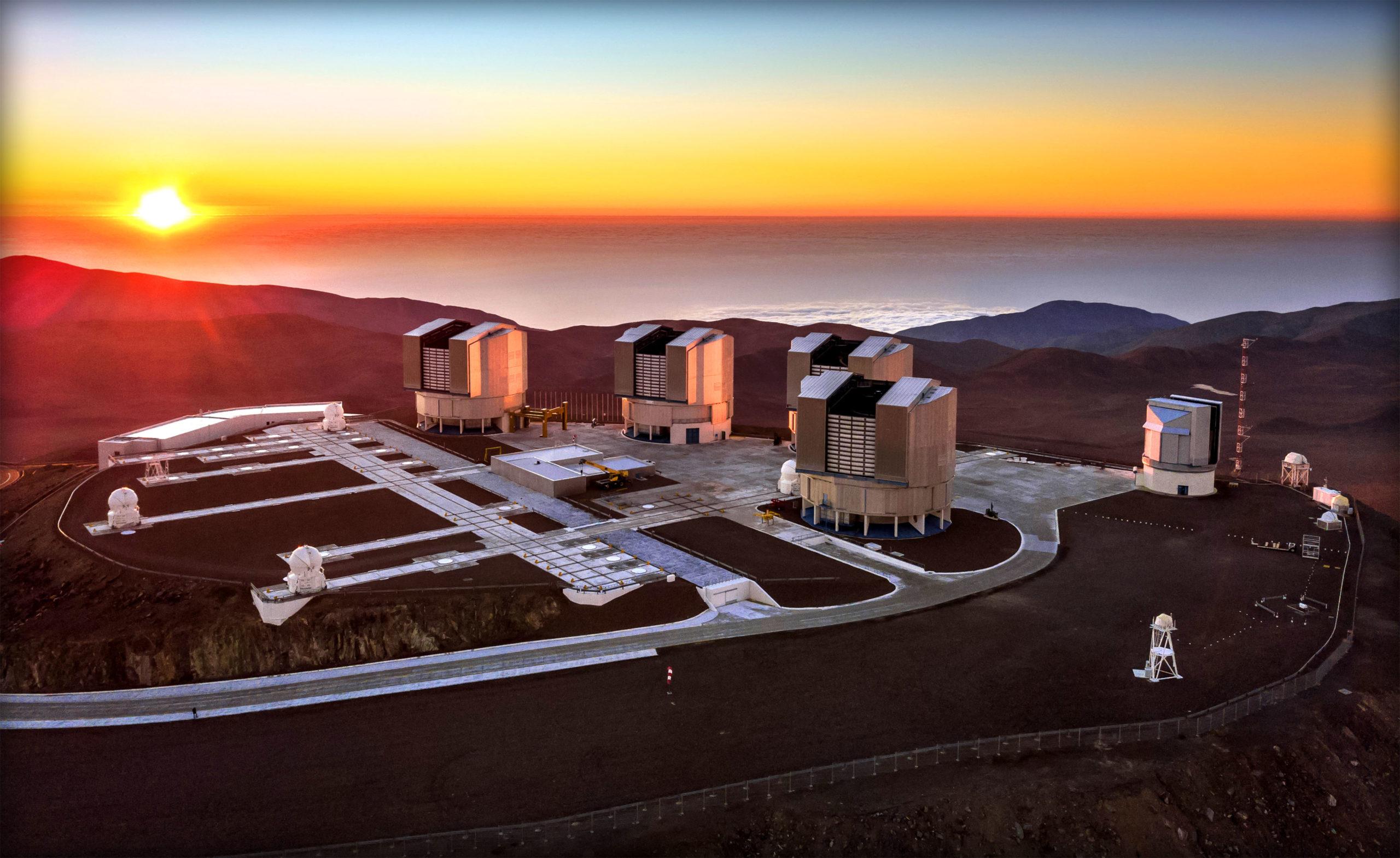 Очень большой телескоп, Паранальская обсерватория, Чили