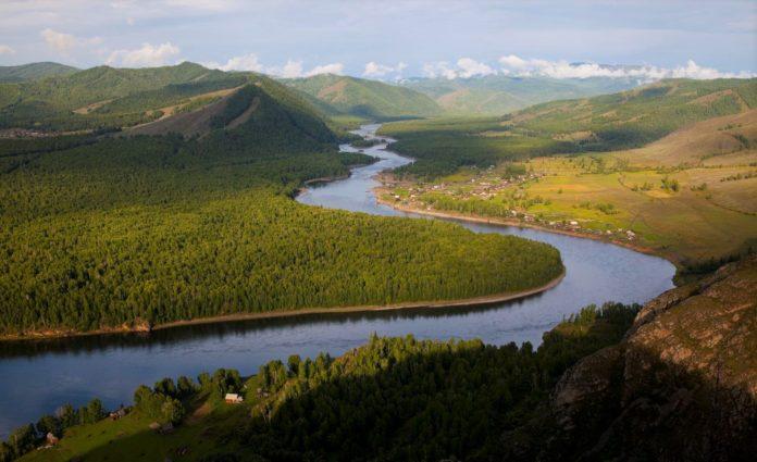 Реки России - список, длина, описание, характеристики, расположение, фото и видео