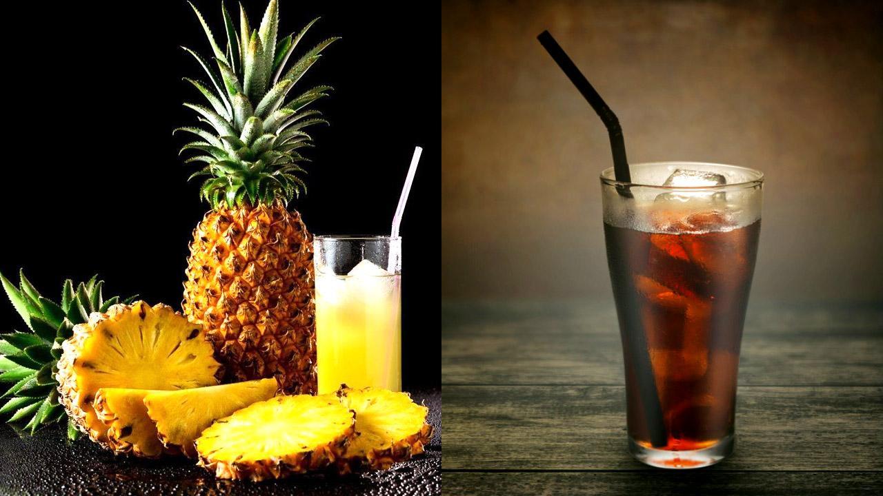Разъедают ли ананасовый сок и кола организм изнутри?