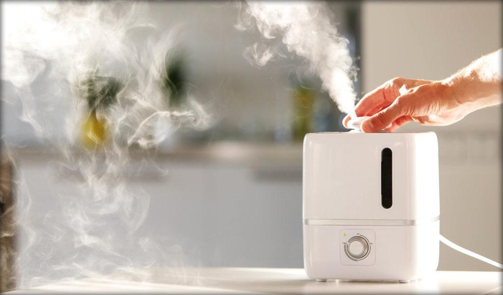 Увлажнители воздуха повышают показатель влажности за счет испарения воды