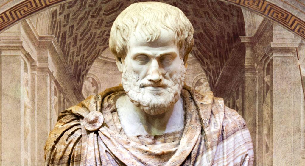 """Впервые термин """"физика"""" фигурирует в сочинениях Аристотеля (IV век до н. э.)"""