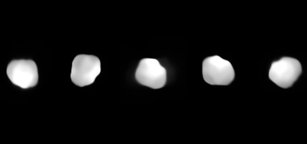Изображения 16 Психеи, полученные с помощью Очень большого телескопа