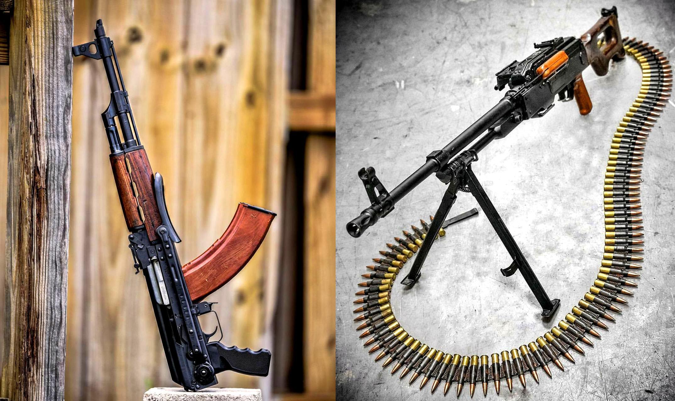 Чем автомат отличается от пулемета?
