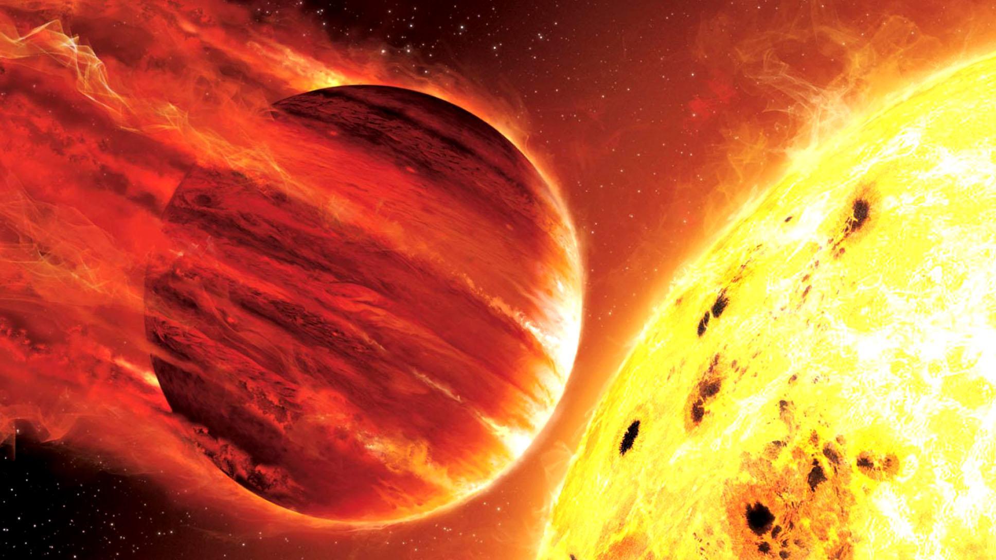 """Открыты 4 """"горячих Юпитера"""""""
