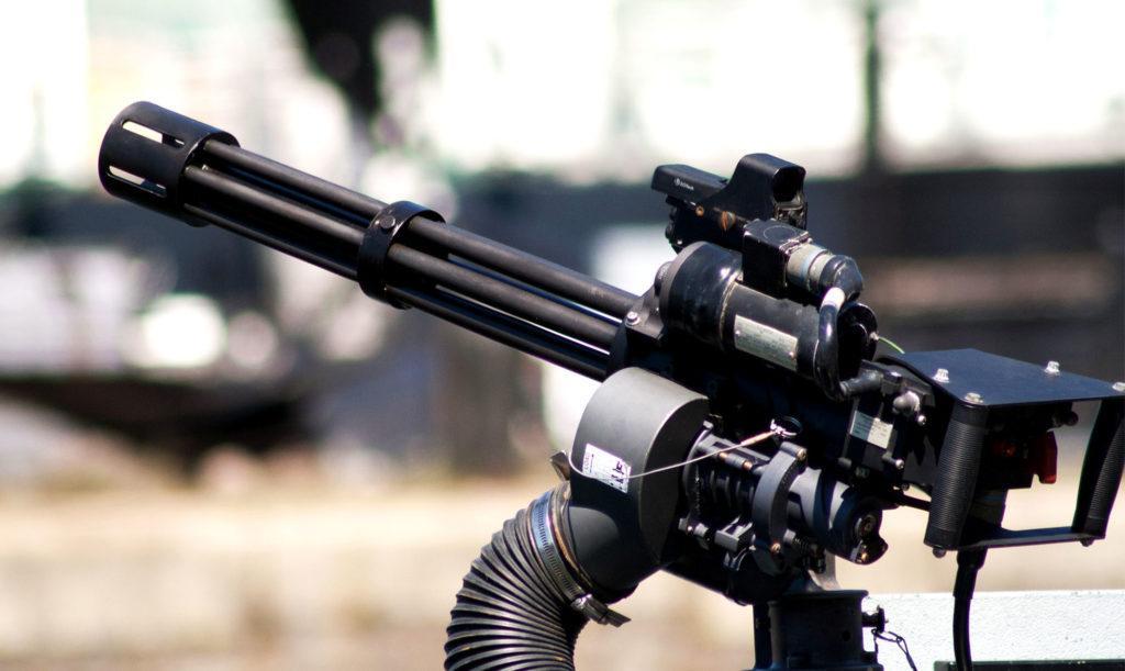 M134 Minigun (по схеме Гатлинга)