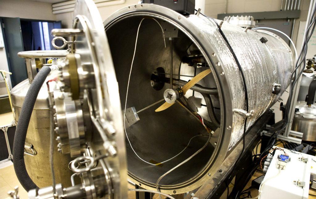 Open University Mars Simulation Chamber – камере моделирования условий на Марсе