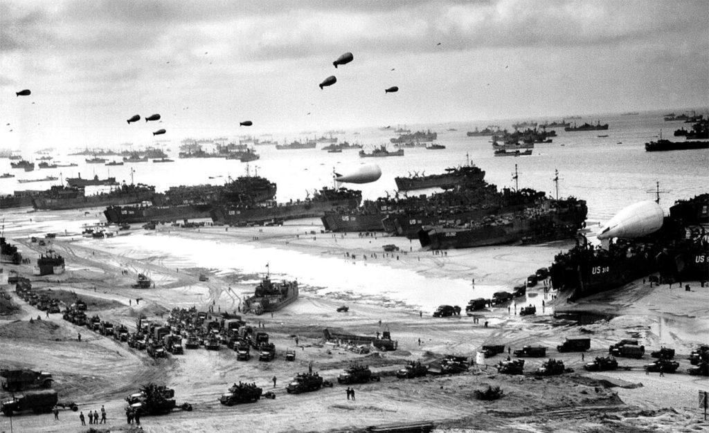 Войска союзников после высадки. Прибытие подкреплений на плацдарм. Нормандская операция