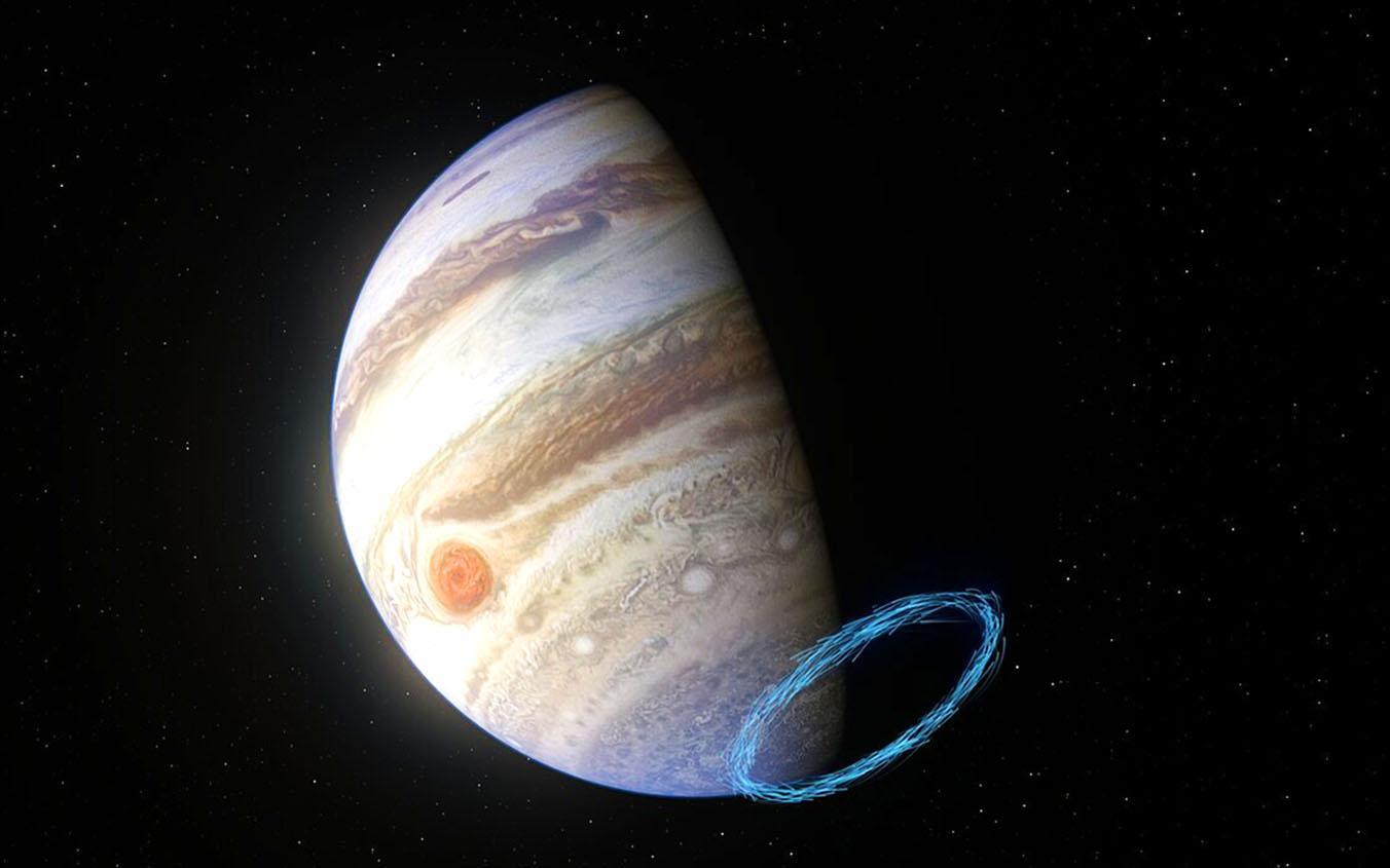 Впервые на Юпитере замерили стратосферные ветры