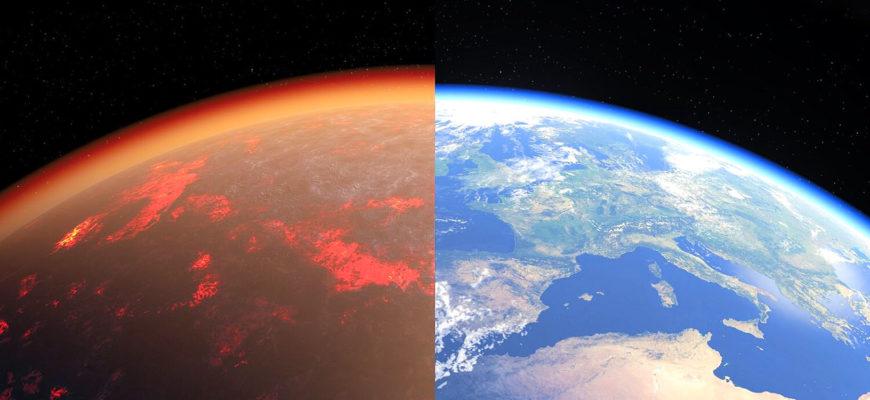 Определен состав ранней атмосферы Земли