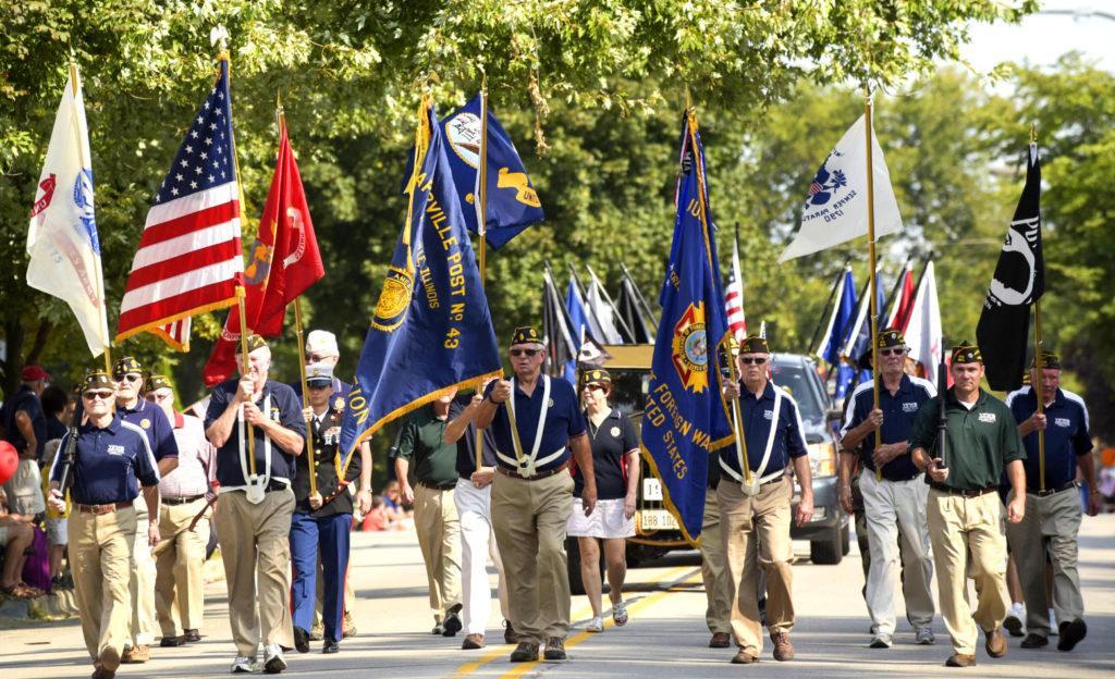 В День труда в США проводятся различные парады и мероприятия