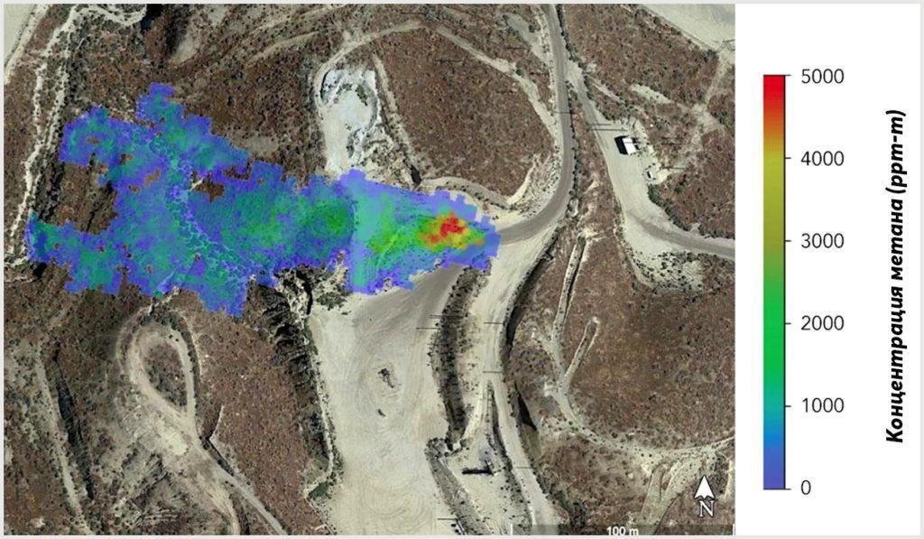 Шлейф метана, обнаруженный НАСА, указывает на протекающую газовую линию на нефтяном месторождении в Калифорнии. Впоследствии оператор подтвердил и устранил утечку