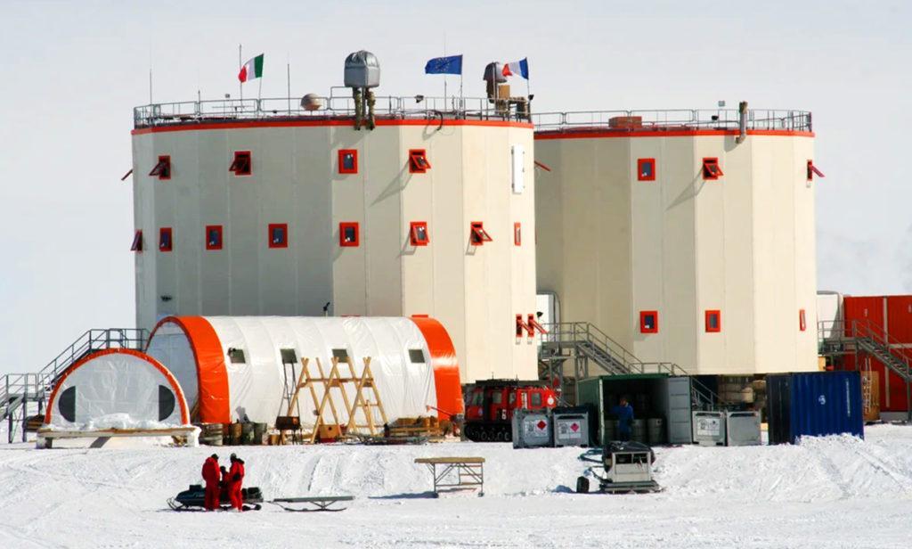 Антарктическая станция Конкордия