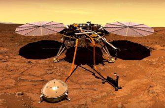НАСА InSight зафиксировал два сильных землетрясения на Марсе