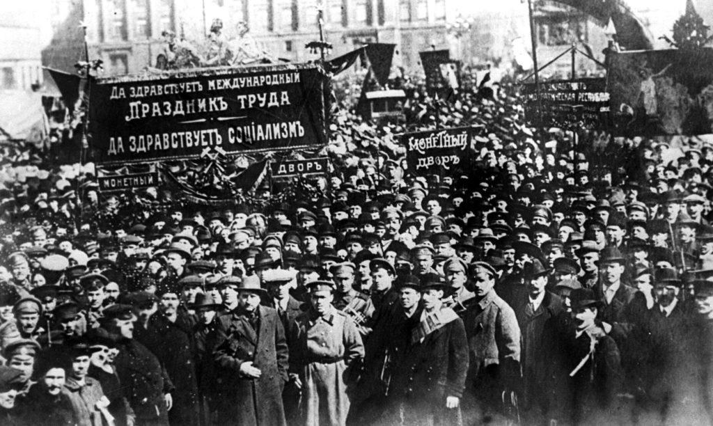 Первомайские выступления рабочих в 1901 году в Петербурге