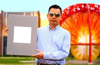 Ученые создали самую белую краску (отражает 98,1 % солнечного света)