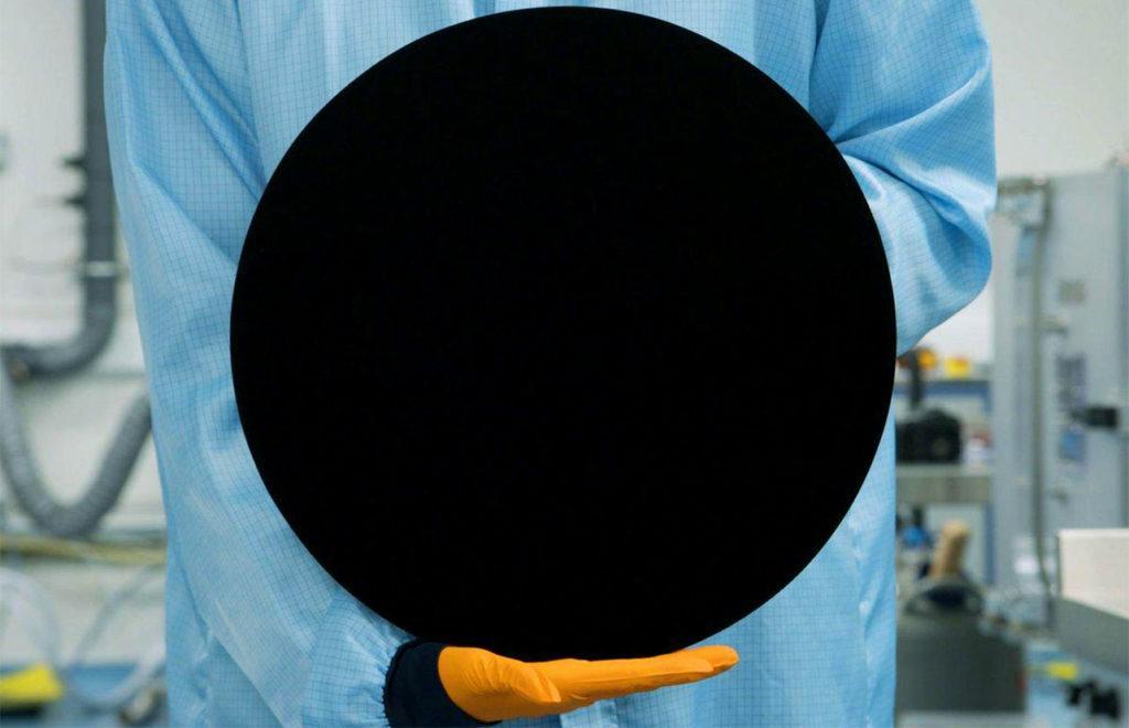 Самая черная краска