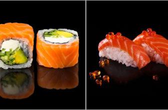 Чем отличаются суши и роллы?