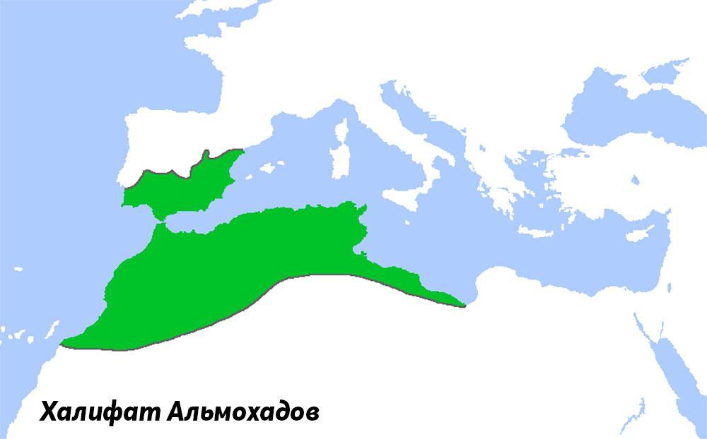 Территория, откуда арабские цифры попали в Европу