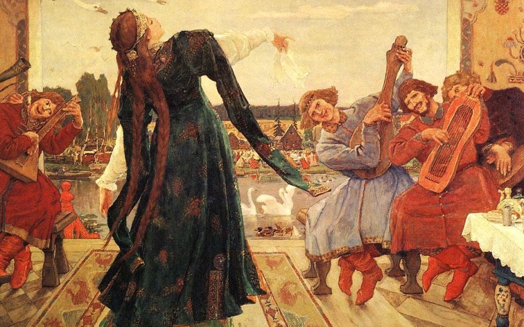 В. М. Васнецов «Царевна-лягушка» (1918)