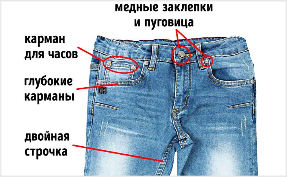 Обязательные элементы классических джинсов