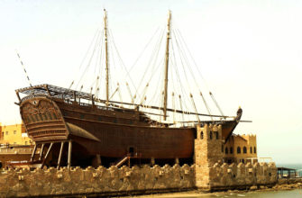 Какой максимальный размер деревянных судов?