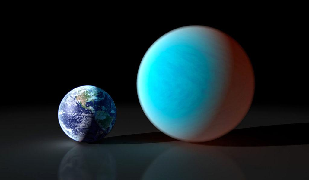 Суперземля 55 Cancri e открыта в 2004 году