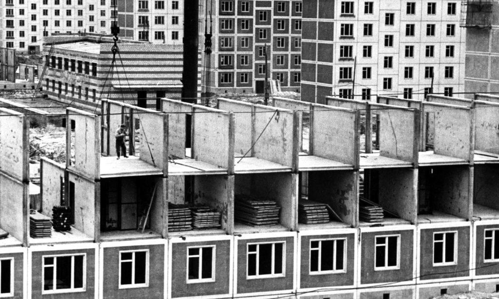 Строительство хрущевок