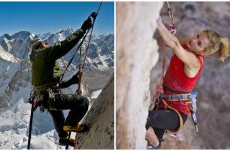 Чем отличается альпинизм от скалолазания?